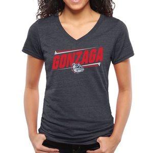 Gonzaga V-Neck T-Shirt (S)